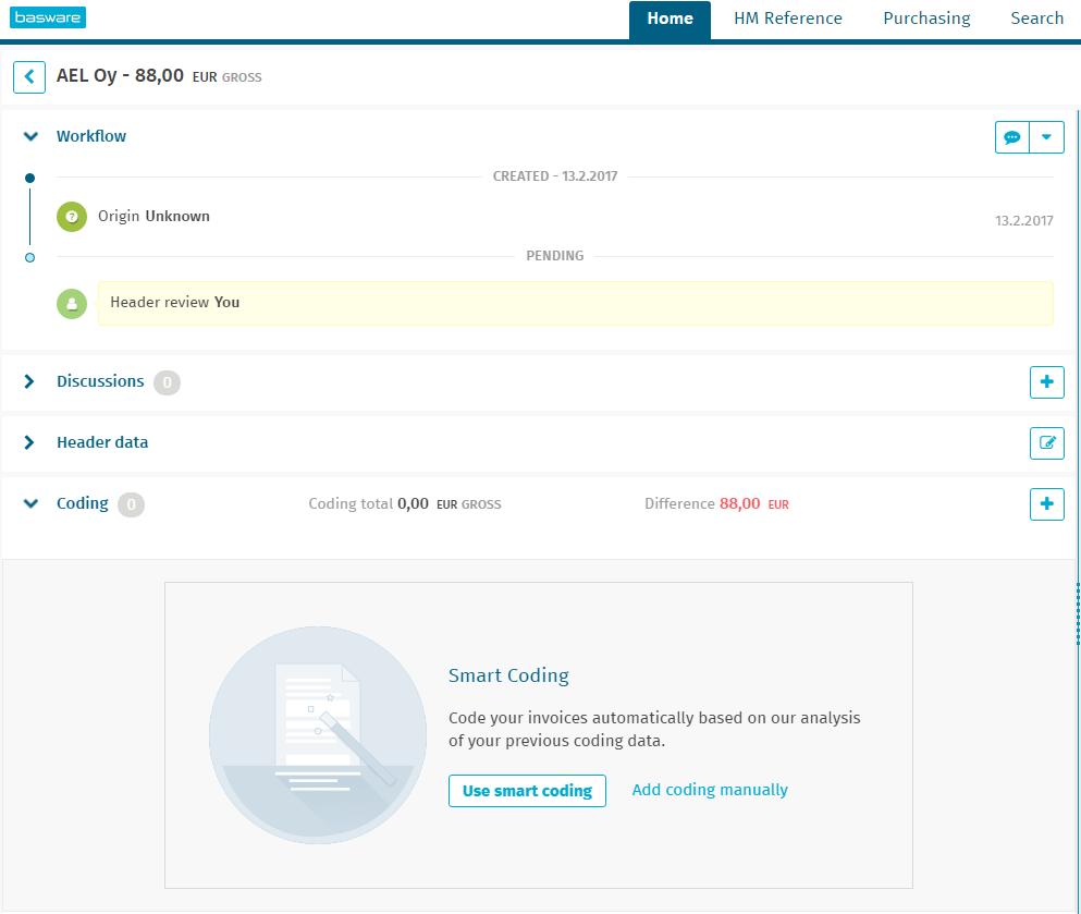 Basware - Knowledge Base Article - Basware Customer Support